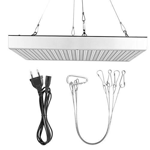 EVTSCAN Grow Light, AC85-265V 45W Plantas de interior LED Luz de crecimiento Lámpara de cultivo de plantas de espectro completo(Enchufe de la UE)