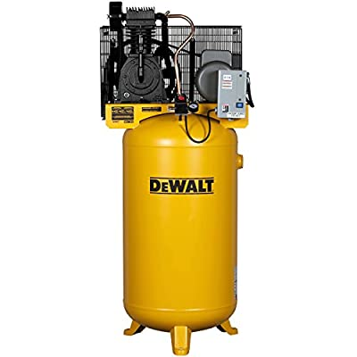 DeWalt DXCMV5018055 5-HP 80-gallon Two Stage Oil-Lube Industrial Air Compressor from MAT Holdings, Inc.