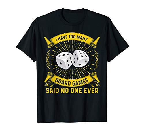 Brettspiel Scherzhemd RPG Würfel Geek Nerd Geschenk T-Shirt