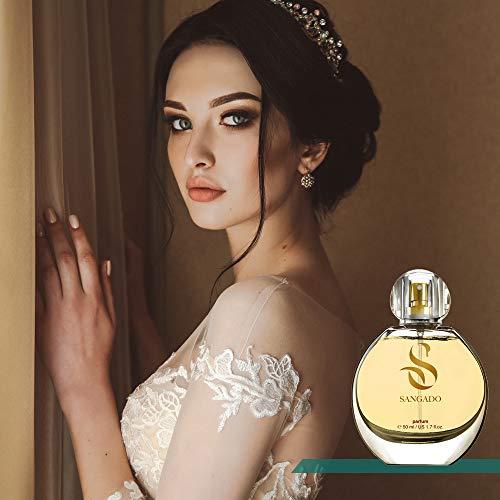 Sangado Sangado mademoiselle dechamps parfüm für damen 8-10 stunden langanhaltend luxuriös duftendes orientalisches blumiges zarte französische essenszen extra-konzentriert -parfüm ideales geschenk 50ml
