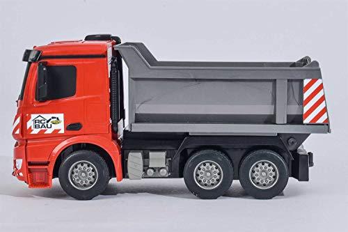 RC Auto kaufen Baufahrzeug Bild 5: Carson Modellsport Muldenkipper 1:26 RC Einsteiger Funktionsmodell Baufahrzeug inkl. Akku, Ladegerä*
