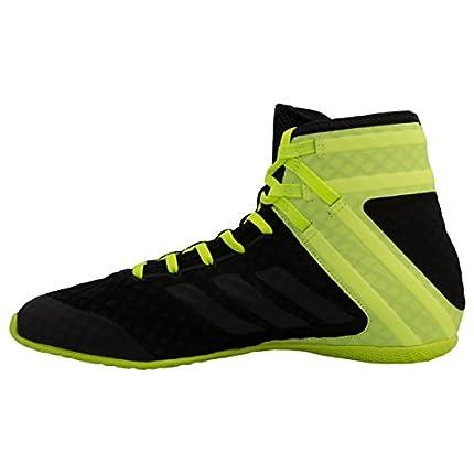 adidas Speedex 16.1, Zapatos de Boxeo Hombre, Negro (Schwarz Cblack/Ngtmet/Silvmt), 46 EU