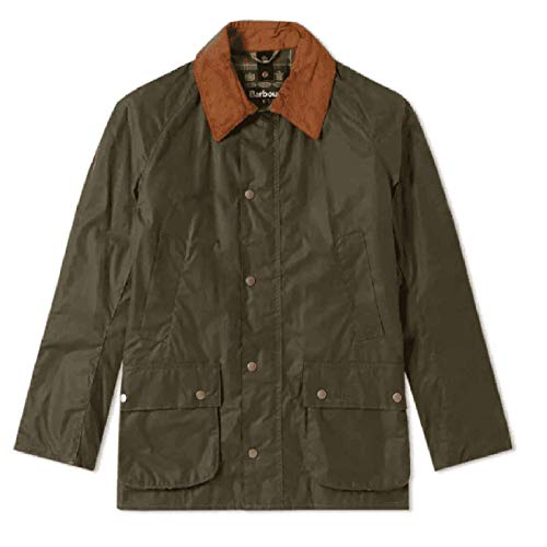 Barbour Ashby Lightweight 4 oz Wax Archive Olive Fadded Olive, L