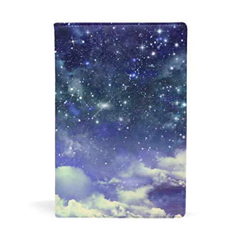 A5 Bucheinband für Taschenbücher Sternenhimmel Galaxie Notizbuch Abdeckung Schule Bildungsbedarf Büroartikel