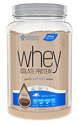 Integrated Supplements CFM Whey Protein Isolate Diet Supplement, 2 Pound