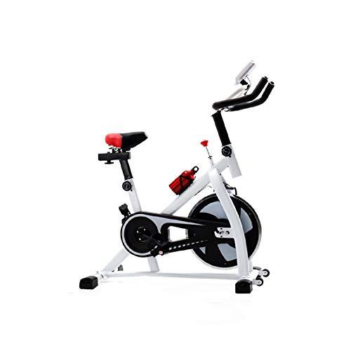 HMBB Bicicletas estáticas y de spinning, Bicicleta estática, manillar ajustable del asiento Resistencia, LCD de visualización electrónica Lee Distancia Etc, Rotar electromagnética bicicletas, for el h