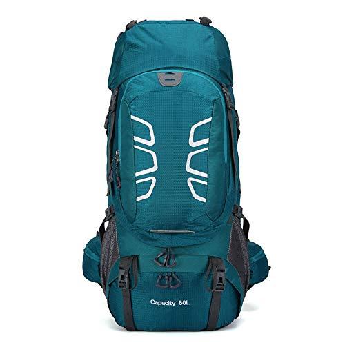 Warm Home Mountaineering Bag Outdoor Grote Capaciteit Fietstas Camping Rugzak Waterdichte Ademende Rugzak Leuk Blauw