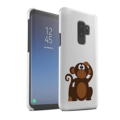 eSwish - Carcasa para teléfono móvil, diseño de Dibujos Animados Mono Samsung Galaxy S9 Plus/G965
