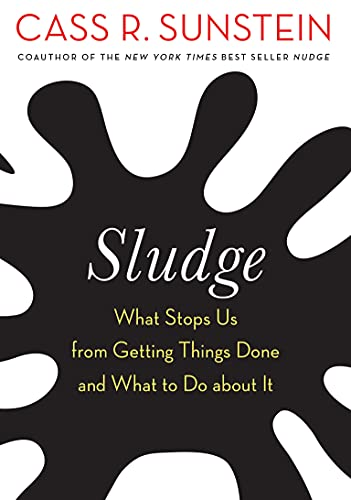 Sludge: What Stops Us from Getting Things Done and What to Do about It
