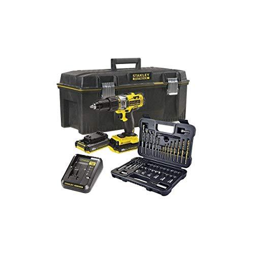 STANLEY FATMAX 18V 27.200 ipm Drill with 2 Batteries, FMCK625PR23-QW