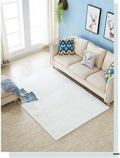 10 畳 カーペット カーペット 8 畳 サイズカーペット ダークグレー 60X90cm 白の模造ウサギの毛皮のカーペットのリビングルームのコーヒーテーブル毛布寝室のベッドサイドブランケットウィンドウパッド?兔毛世帯材料