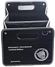 DEFTEN Auto Trunk Organizer Collapsible Cargo Storage Container Black for Jaguar F-Pace F-Type XF XJ XE