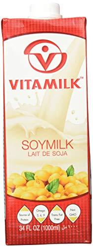 Vitamilk Drinks Soja Tetra, 12er Pack (12 x 1 L)