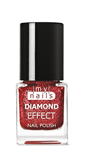 My Nails - Red Diamond Effect
