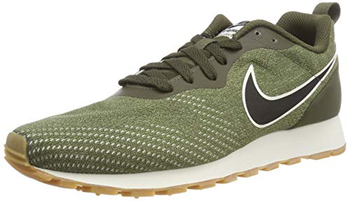 Nike MD Runner 2 Eng Mesh, Zapatillas Hombre, Multicolor (Cargo Khaki/Black/Neutral Olive 001), 39 EU