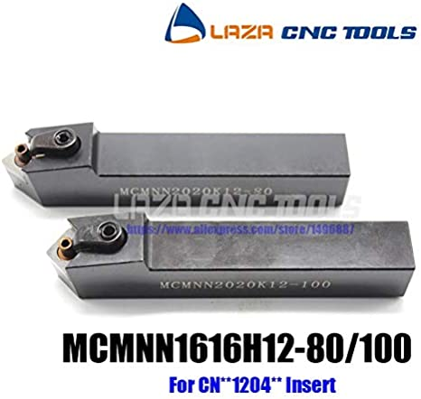 1pc 40° MCMNN 2525M12-100 Index External Lathe Turning Holder For CNMG1204