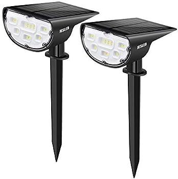 2-Pack Jesled 14-LED Landscape Spotlights