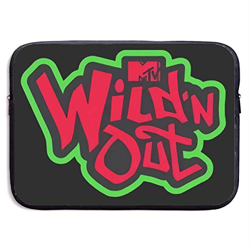 Hdadwy Wild 'N Out Laptop Sleeve Bag Notebook Computer, Water Repellent Polyester Protective Case Cover Theme Design Laptop