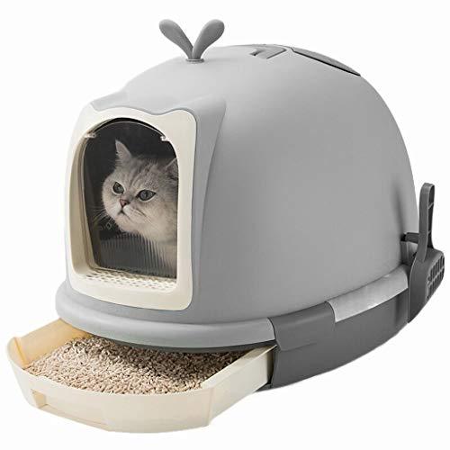 Toilette Gatti Gatti for animali domestici Cassetta for lettiera semi-chiusa Curver Lettiera for animali domestici con cappuccio Vaschetta for gatti Vaschetta for lettiera for gatti Vaschette for lett
