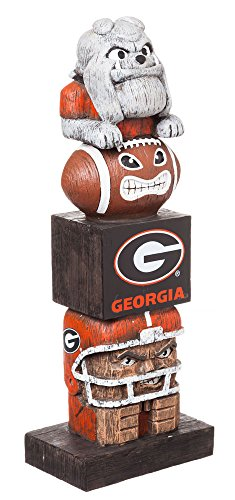 georgia bulldog figurine - 1