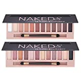 2 Pack 12 Colors Makeup