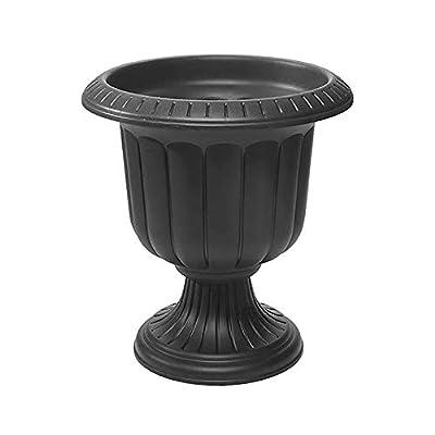 Novelty 38198.03 Classic Urn Planter, Black, 19 Inch