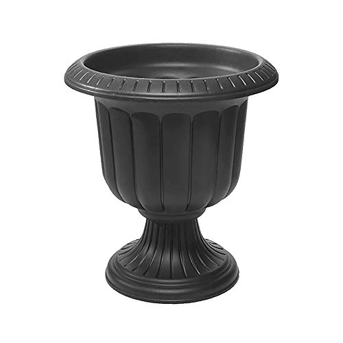 Novelty 38198.03 Classic Urn Planter, Black, 19 Inch