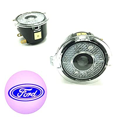2 Packs Car Door LED Logo Puddle Lighting Side Mirror Projector Ghost Shadow Lights Courtesy Step Welcome Lamps for Ford Explorer/Focus/Mondeo/Taurus
