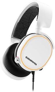 SteelSeries Arctis 5 - Casque de Jeu à Éclairage RVB - Son Surround DTS Headphone:X v2.0 pour PC, Playstation 5 et PS4 - B...