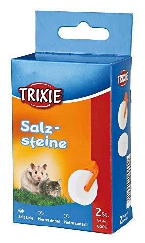 Trixie 6000 Salzsteine mit Halter, 2 × 54 g