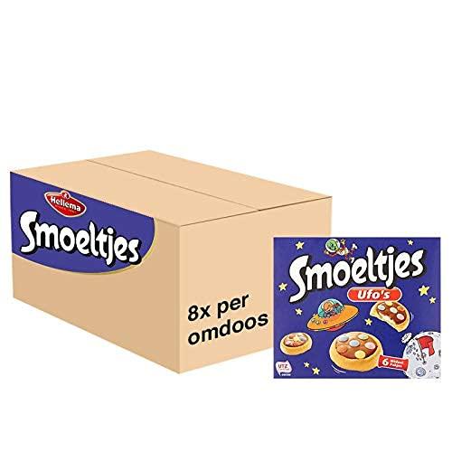 Smoeltjes Ufo's Kinder Koekjes 1,12 kg Grootverpakking Buitenaards Lekker! Cookies Verpakt in 48 Uitdeel Traktatie…