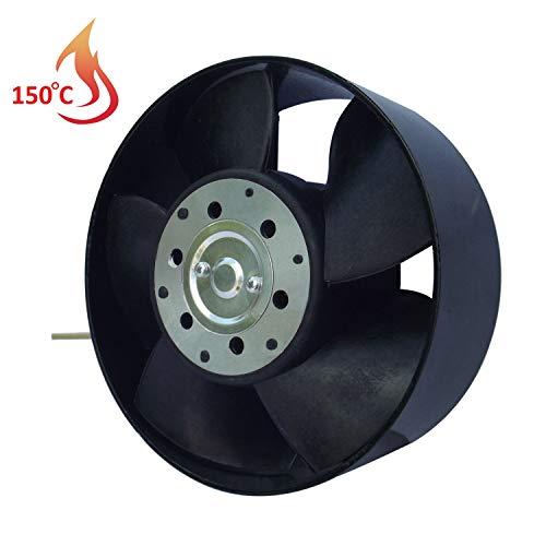 Ventilador Extractor de Alta Temperatura 150°C para