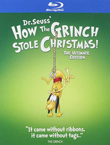 How the Grinch Stole Christmas: Ultimate Edition (Iconic Moments LL/BD) [Blu-ray]