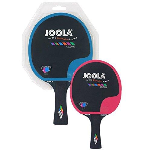 JOOLA Unisex– Erwachsene TT-Bat Colorato schläger, Blau-Pink