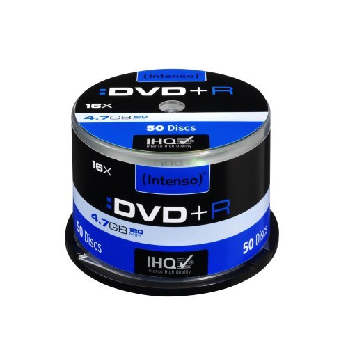 Intenso DVD+R 16x Speed 50er Spi...