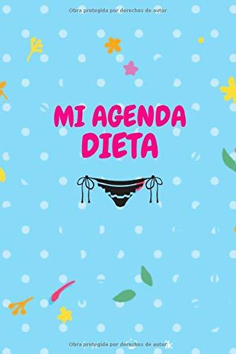 MI AGENDA DIETA: Libro para recuperar la línea con este diario para registrar su dieta diaria y su actividad física | Cuaderno para rellenar y adelgazar | diario para seguir su dieta y bajar de peso