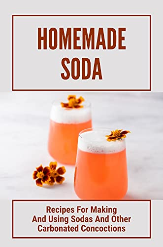 Homemade Soda: Recipes For Making And Using Sodas And Other Carbonated Concoctions: Sodastream Recipes No Sugar (English Edition)