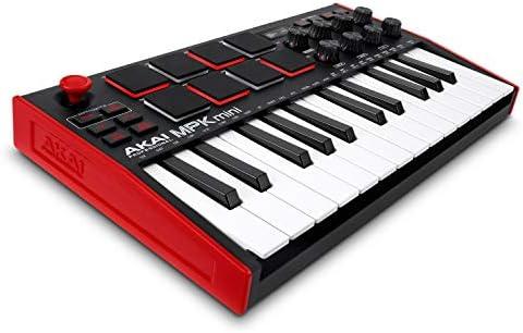 AKAI Professional MPK Mini MK3 25 Key USB MIDI Keyboard Controller With 8 Backlit Drum Pads product image