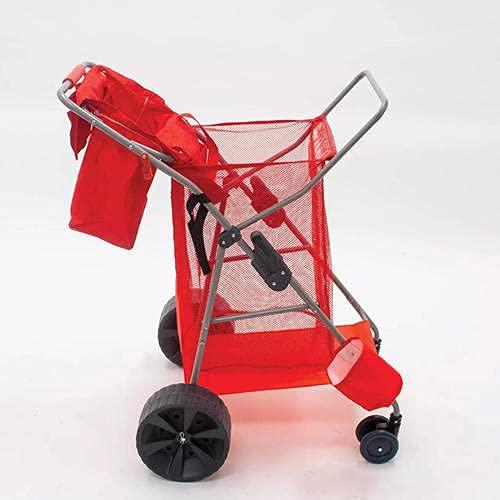 Rio Wonder Wheeler Beach Standing Cart in Red