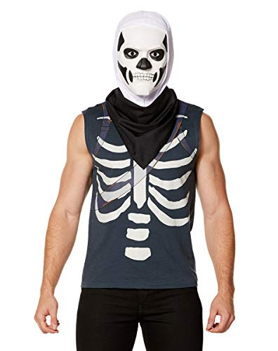 Spirit Halloween Fortnite Skull Trooper Kit - L