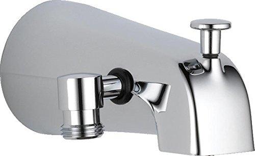 DELTA U1072-PK Diverter Tub Spout, Chrome,0.5
