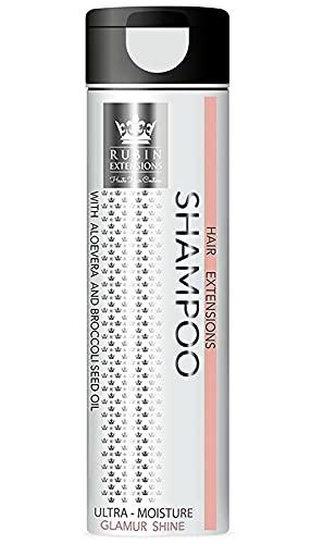 Rubin Long Life Collektion Hair Extensions Shampoo - Ultra-Moisture Glamour Shine - 250 ml