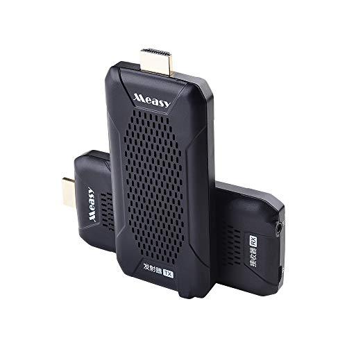 Measy FHD656 Nano 2.4G / 5.8G jusqu'à 100M / 330FT HDMI Système de Transmission Audio vidéo sans Fil sans Fil HDMI Extender Émetteur Récepteur pour PC TV Box DVD Project