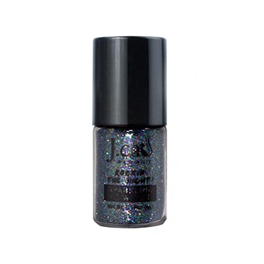 隣接まもなくバックアップ(6 Pack) J. CAT BEAUTY Sparkling Powder - Bondi Black (並行輸入品)