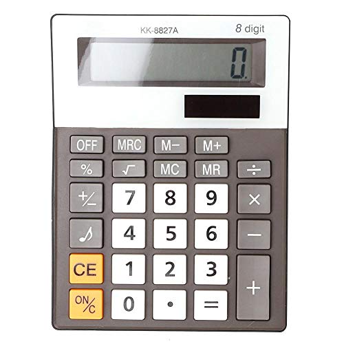 Calcolatrice desktop con schermo a 8 cifre e design semplice, musica e bip calcolatrice base vocale per negozio e ufficio