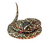 YIPUTONG Peluche de pitón 200/300 cm de Largo Animal de Peluche de Felpa simulación de Serpiente pitón de Peluche de Juguete de Peluche Serpiente Snakesss Animal de Peluche pitón Serpiente de Peluche
