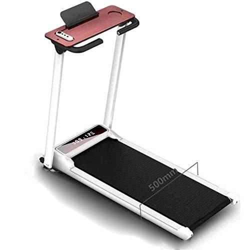 Cinta de correr durante y oficina, caminadora eléctrica plegable, capacidad de carga segura hasta 200 kg, control remoto cubierta equipos de gimnasia, velocidad 1-10km / h, Home Fitness Equipment JGWH