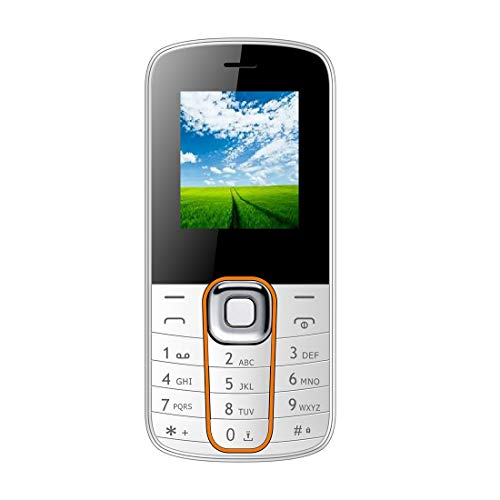 IKALL K301 18 Inch Display Feature Phone White