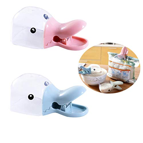 Yongse Multifunctionele Leuke Eend Rijst Schop Lepel Met Seal Ring Clip Keuken gadgets Tarwe Voedsel Lepel Bailer