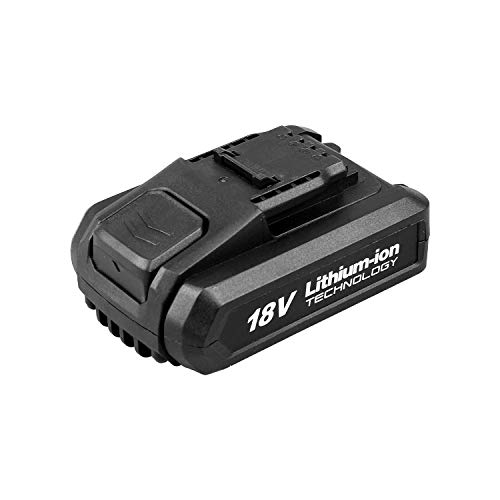WESCO WS9928 Batteria Li-ion 18V 2.0AH Apposto per Utensili a Batteria 18V, Avvitatore WS2317, WS2318, WS2319, WS2320, Levigatrice WS2315,